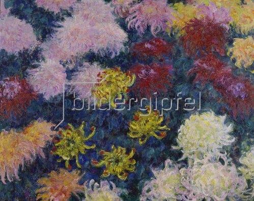 Claude Monet: Chrysanthemen. 1897