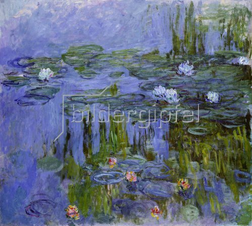 Claude Monet: Nymphéas. 1913