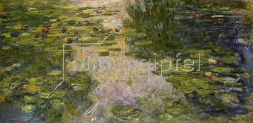 Claude Monet: Le bassin aux nymphéas. 1917/1919.