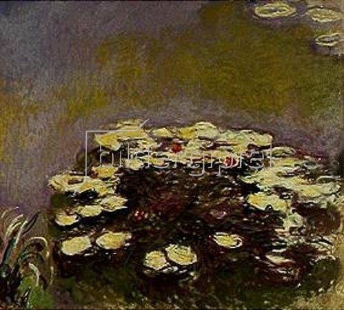 Claude Monet: Nymphéas. 1914/1917.