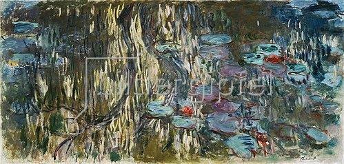 Claude Monet: Nymphéas (Reflets de saule). 1916/1919.