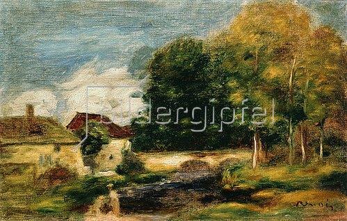 Auguste Renoir: Die Brücke.