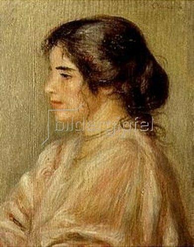 Auguste Renoir: Gabrielle im Profil.