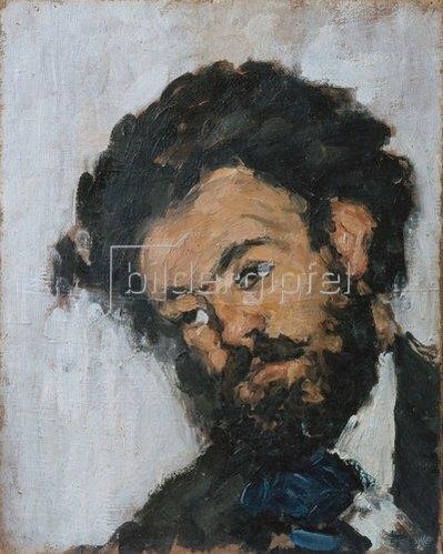 Paul Cézanne: Fortuné Marion (Schwarzer Kopf).