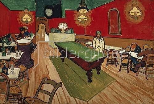 Vincent van Gogh: Das Nachtcafé in Arles. 1888.