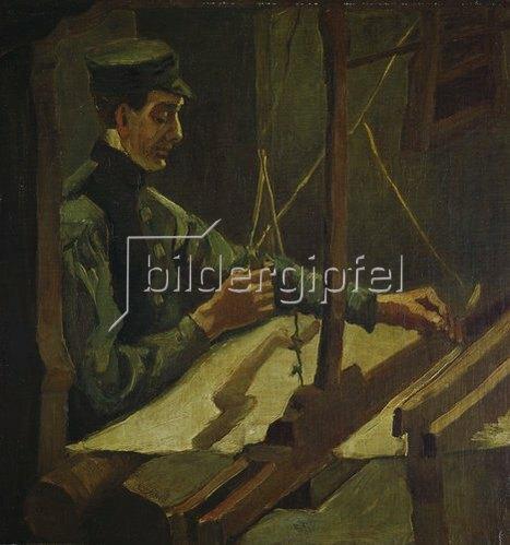Vincent van Gogh: Der Weber Drieck Dekkers. 1884.