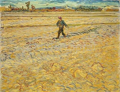 Vincent van Gogh: Der Sämann. 1888