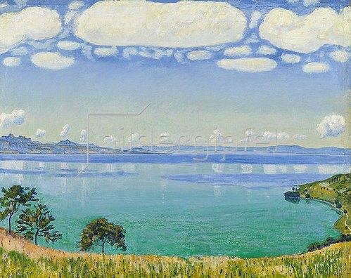 Ferdinand Hodler: Der Genfer See von Chexbres aus. 1905