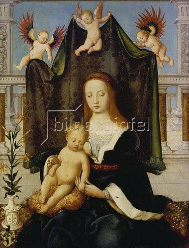 Hans Holbein d.Ä.: Madonna mit Kind, sogenannte Böhlersche Madonna.