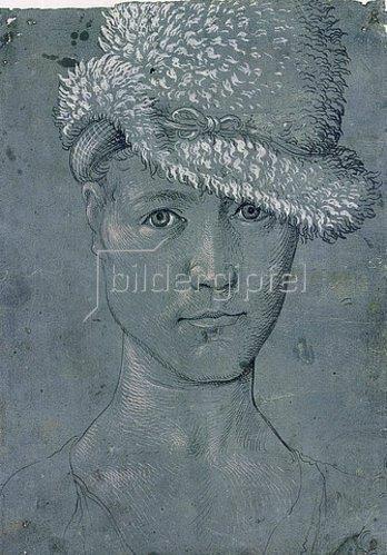 Hans Baldung (Grien): Selbstbildnis. Um 1502