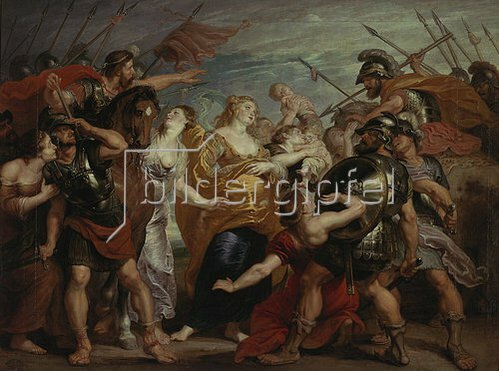 Peter Paul Rubens: Die Versöhnung zwischen den Sabinern und den Römern.