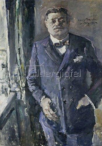 Lovis Corinth: Bildnis des Reichspräsidenten Friedrich Ebert. 1924