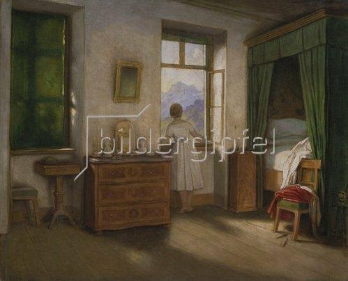 Moritz von Schwind: Die Morgenstunde. Um 1860.