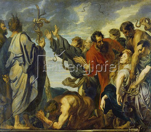 Anthonis van Dyck: Die eherne Schlange. 1618-20