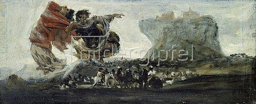 Francisco José de Goya: Phantastische Vision. 1820/23