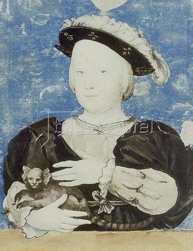 Hans Holbein d.J.: Bildnis des Prinzen Edward.