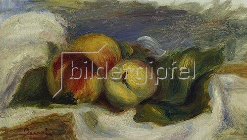 Auguste Renoir: Früchtestilleben.