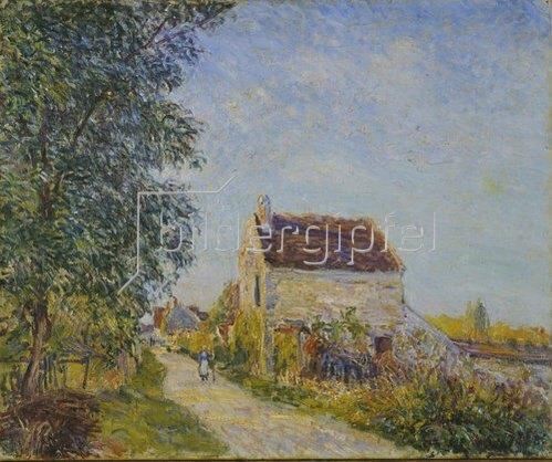Alfred Sisley: Le Village des Sablons. 1885