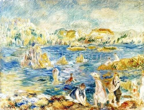 Auguste Renoir: Strand von Guernsey.