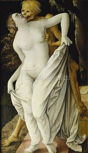Hans Baldung (Grien): Der Tod und die Frau. Um 1520/25