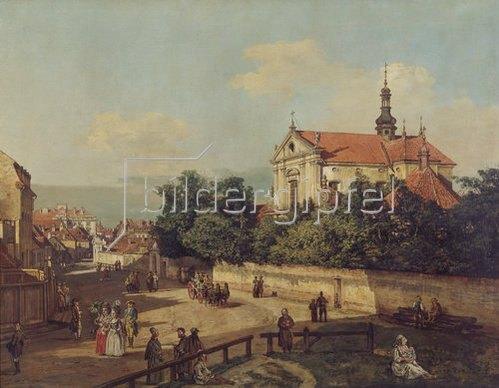 Bernardo (Canaletto) Bellotto: Die Senatorenstrasse in Warschau. 1779.