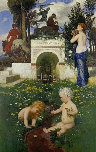 Arnold Böcklin: Vita Somnium Breve. 1888
