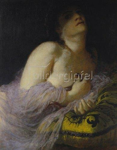 Arnold Böcklin: Die sterbende Kleopatra. 1878.