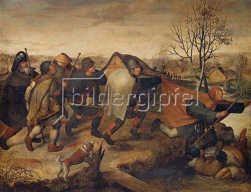 Pieter Brueghel d.Ä.: Die Blinden.