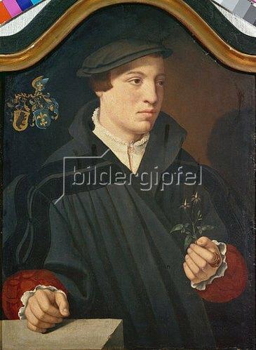 Bartholomäus Bruyn d.Ä.: Bildnis des Peter von Berthold. 1536.
