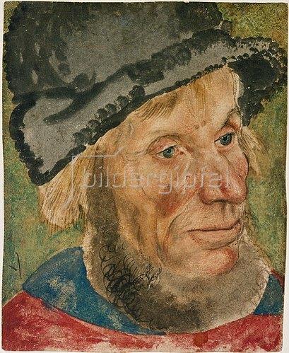 Lucas Cranach d.Ä.: Kopf eines Bauern.