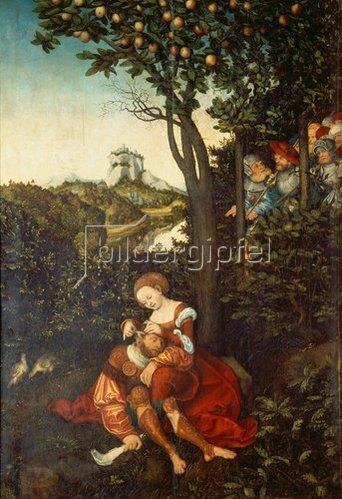 Lucas Cranach d.Ä.: Samson und Dalila.