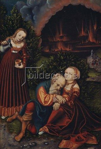 Lucas Cranach d.Ä.: Lot und seine Töchter.