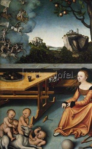 Lucas Cranach d.Ä.: Melancholie.