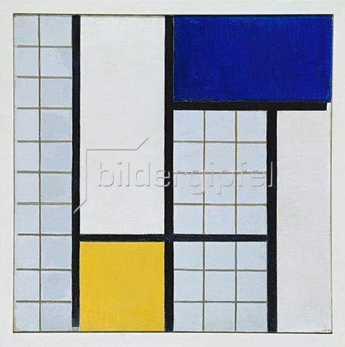 Theo van Doesburg: Composition en demi valeurs. 1928.