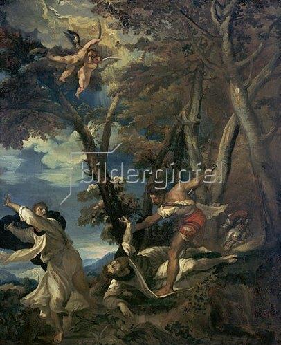 Théodore Géricault: Das Martyrium des hl. Petrus. Kopie nach einem zerstörten Gemälde von Tizian. Um 1814