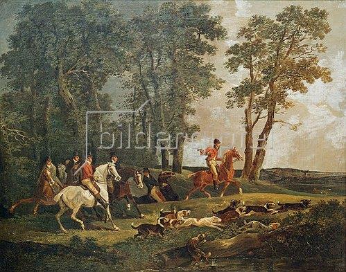 Johann Conrad Gessner: Jagd auf Hasen.
