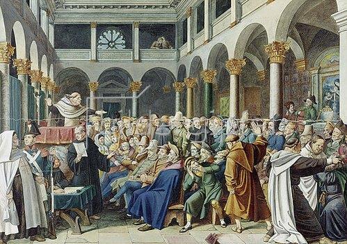 Hieronymus Hess: Judenpredigt in Rom.