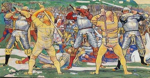 Ferdinand Hodler: Die Schlacht bei Näfels 1896/1897.