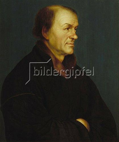 Hans Holbein d.J.: Bildnis des Buchdruckers Johann Froben.