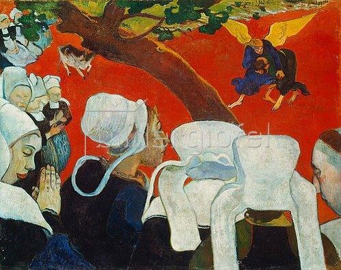 Paul Gauguin: Vision nach der Predigt. 1888