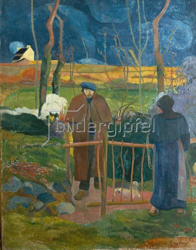Paul Gauguin: Bonjour, Monsieur Gauguin. 1889