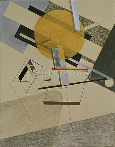 El Lissitzky: Proun 7 A.