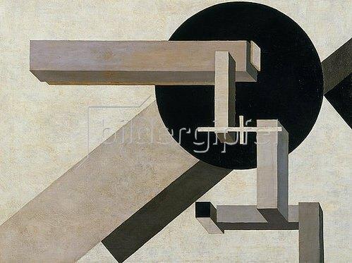 El Lissitzky: Proun 1 D. 1919