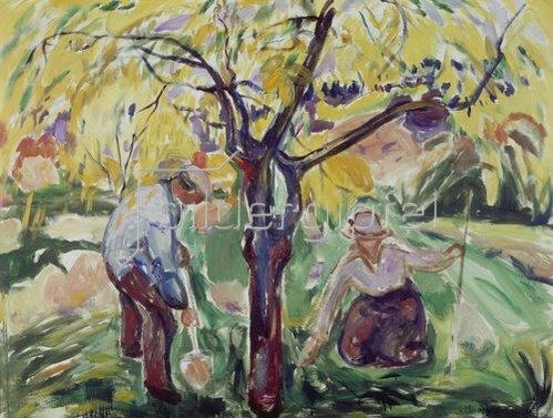 Edvard Munch: Apfelbaum. 1921.