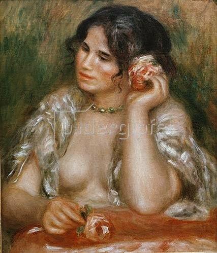 Auguste Renoir: Gabrielle mit der Rose. 1911