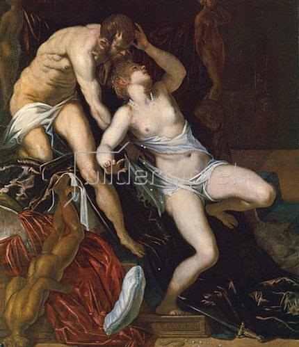 Tizian (Tiziano Vecellio): Lucrezia.