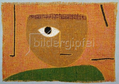 Paul Klee: Das Auge. 1938.