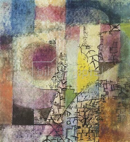 Paul Klee: Komposition 1914.18