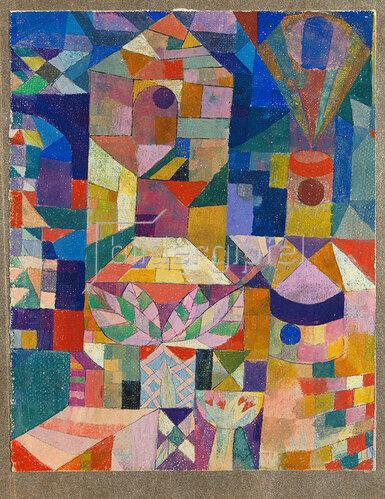 Paul Klee: Burggarten 1919