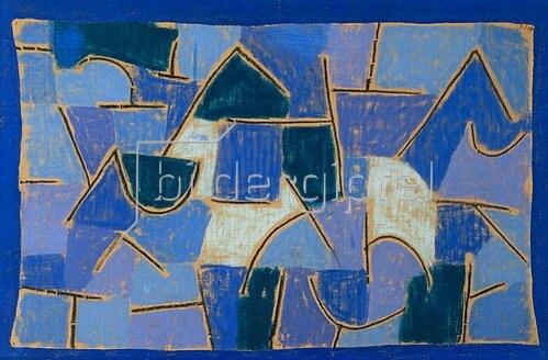 Paul Klee: Blaue Nacht. 1937.